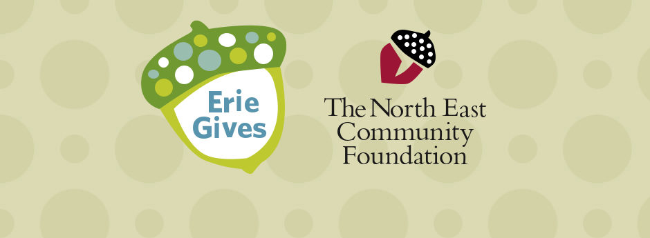 We match funds given to local nonprofits during Erie Gives — $25,000 in 2020!